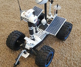 Remote Controlled Mars Rover w/ Android App