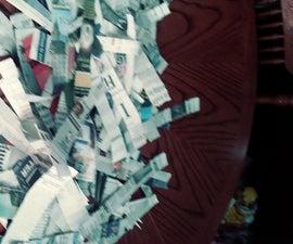 Homemade Paper Mache Pinata