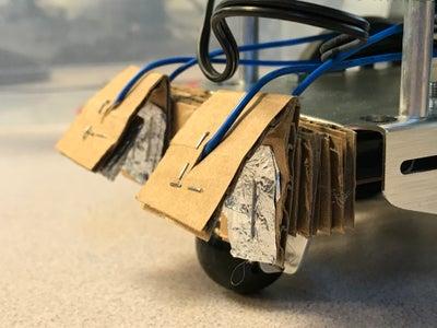 Boe Bot - Bumpers