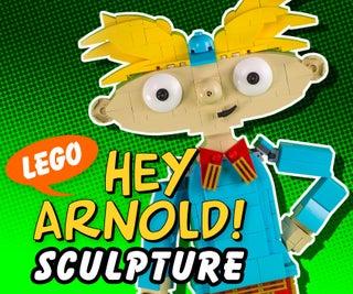 LEGO Hey Arnold! Sculpture