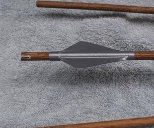 Arrow  - Flecha De Madera - Wooden Arrow