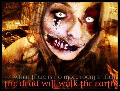 Living Dead Girl Photo Transformation