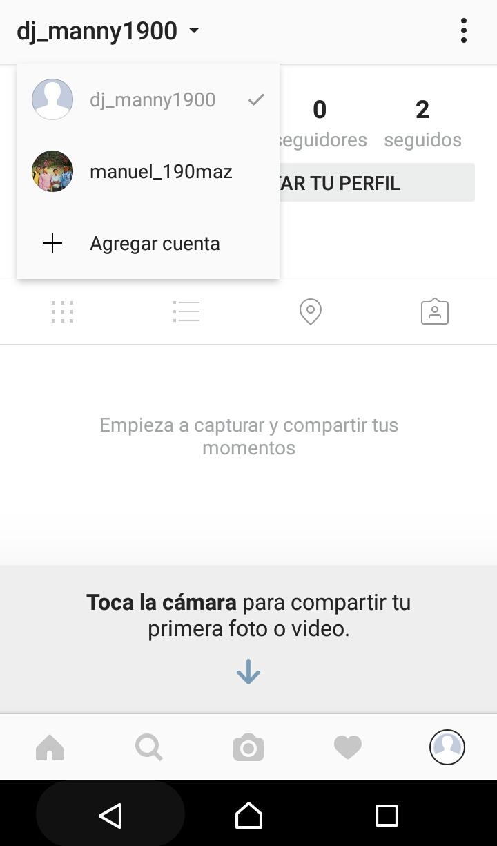 Picture of Como Tener Múltiples Cuentas En Instagram