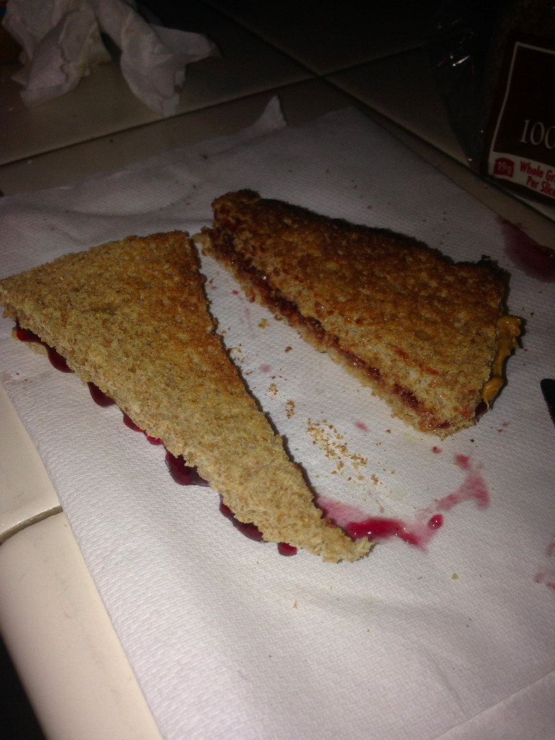 Picture of PB & J!!!!