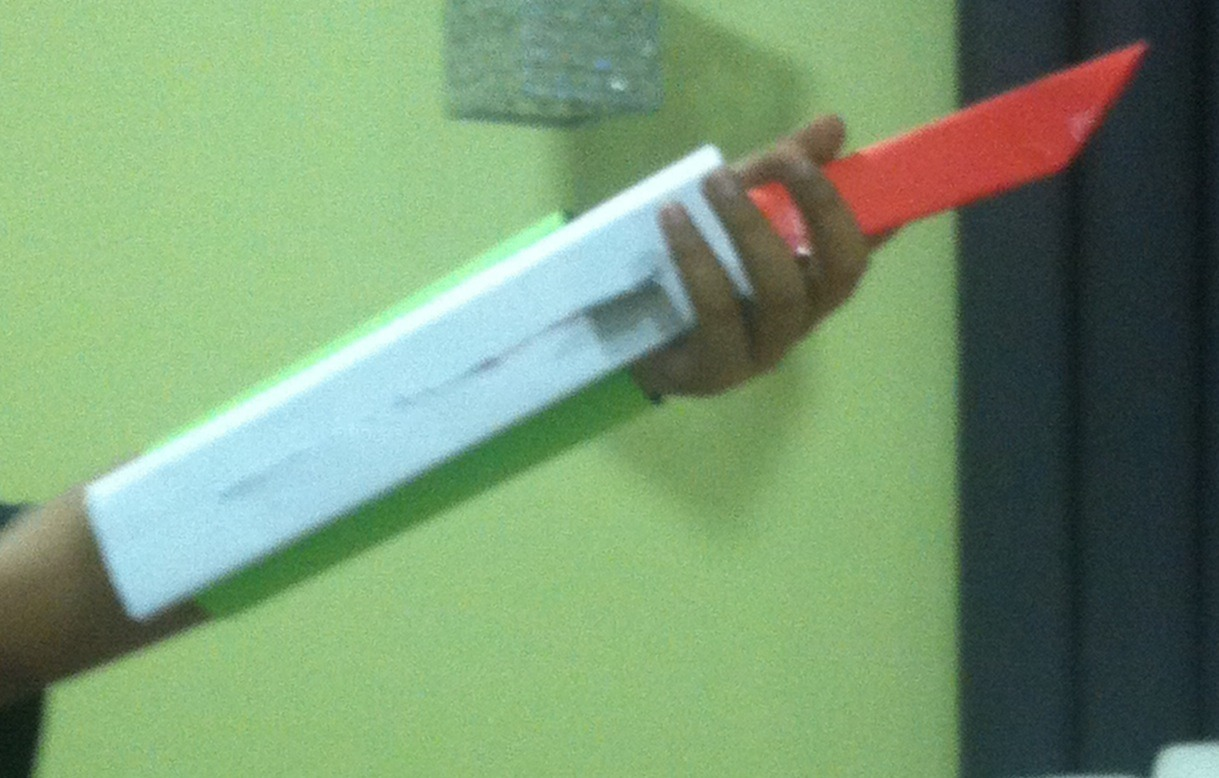 Picture of Assassins Creed Paper Hidden Blade