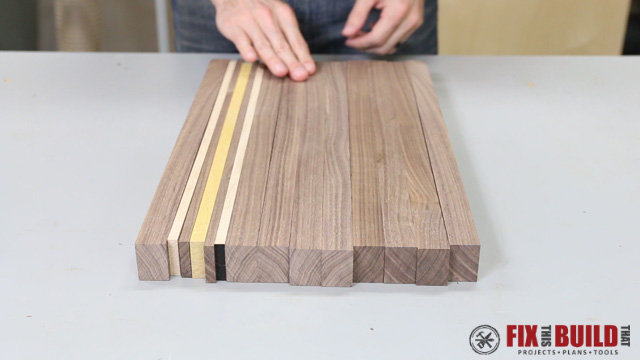 Picture of Prepare the Accent Woods and Strips
