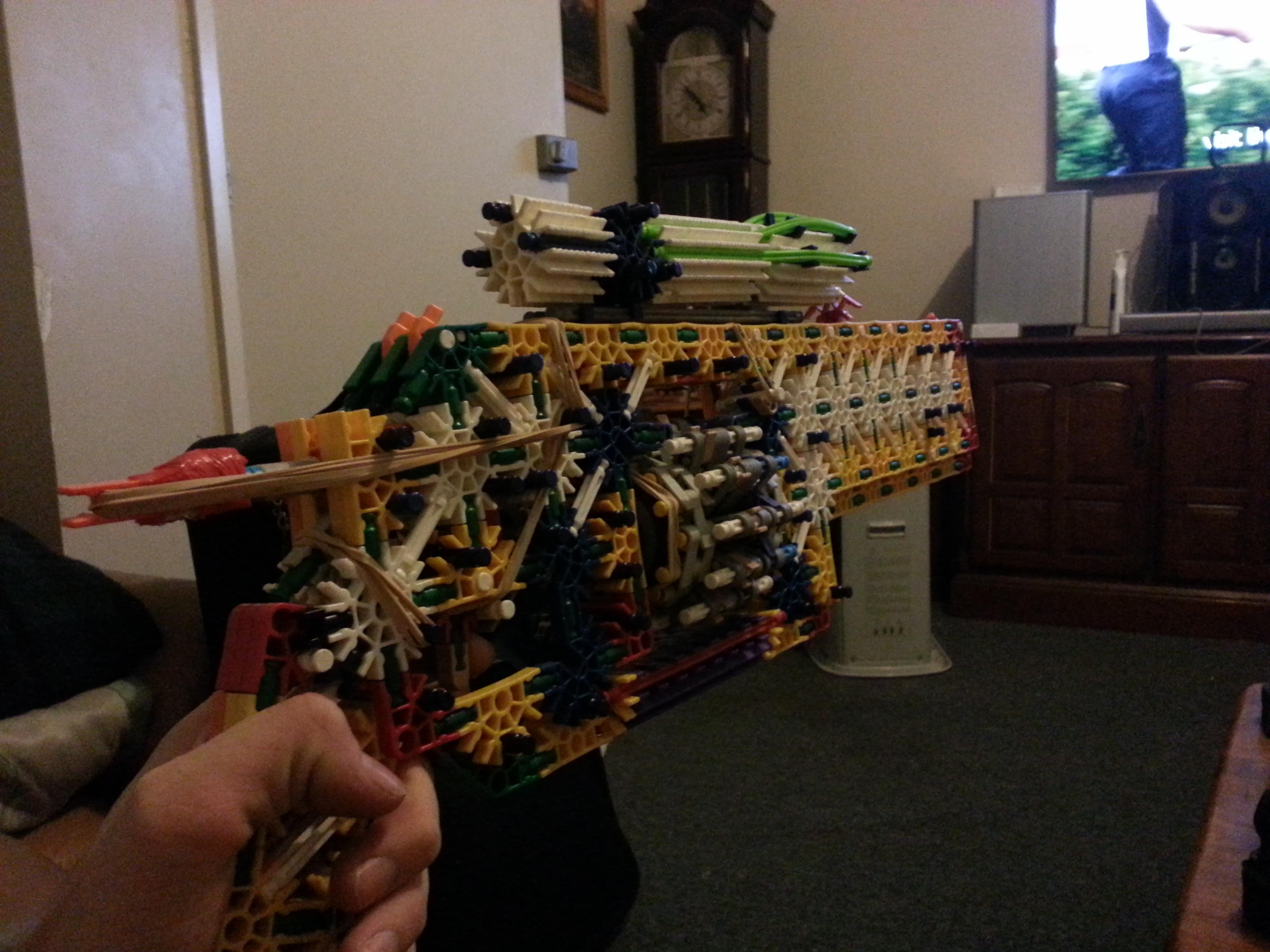 Picture of K'nex Gun: the Judge