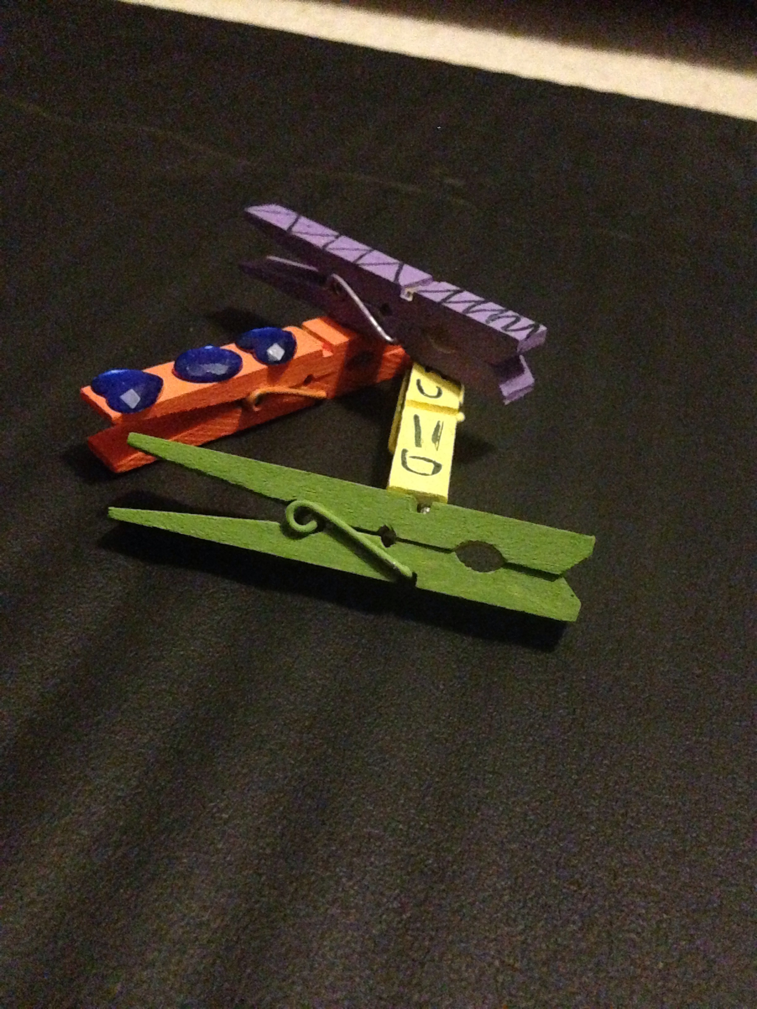 Picture of Painted Chip Clips