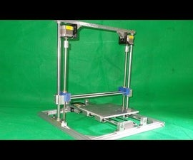 Homemade RepRap Prusa 3D Printer Engraving Plotter Laser  Frame DIY Y Axis Slide Linear