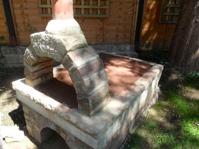 Create the Entrance Arch and Baking Surface