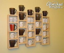Coffee Mug Display Rack
