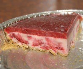 Frozen Strawberry Cheesecakes