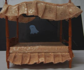 Haunted dolls house bed