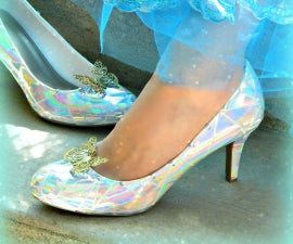 Glass Slippers DIY
