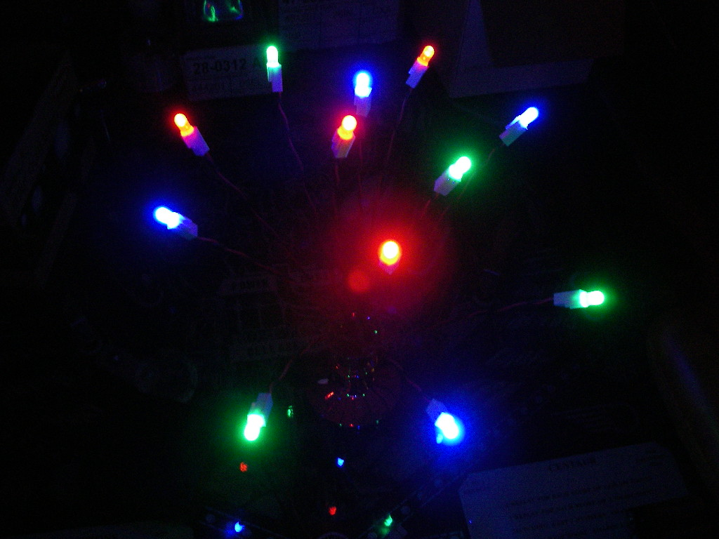 Picture of Make a Hackable LED Ornament.