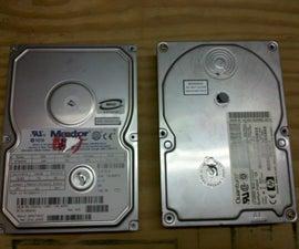 Reusing Old Hard Drive Magnets