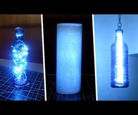 Make a Lamp From a Bottle