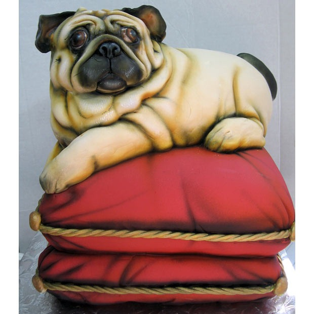 Picture of Pug Cake