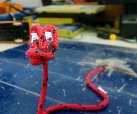 Paracord Stop-motion Snake