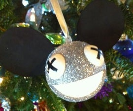 How to make a Deadmau5 Christmas ornament that lights up!