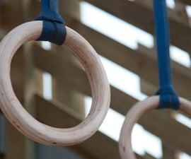DIY Wooden Olympic / Gymnastic / Crossfit rings