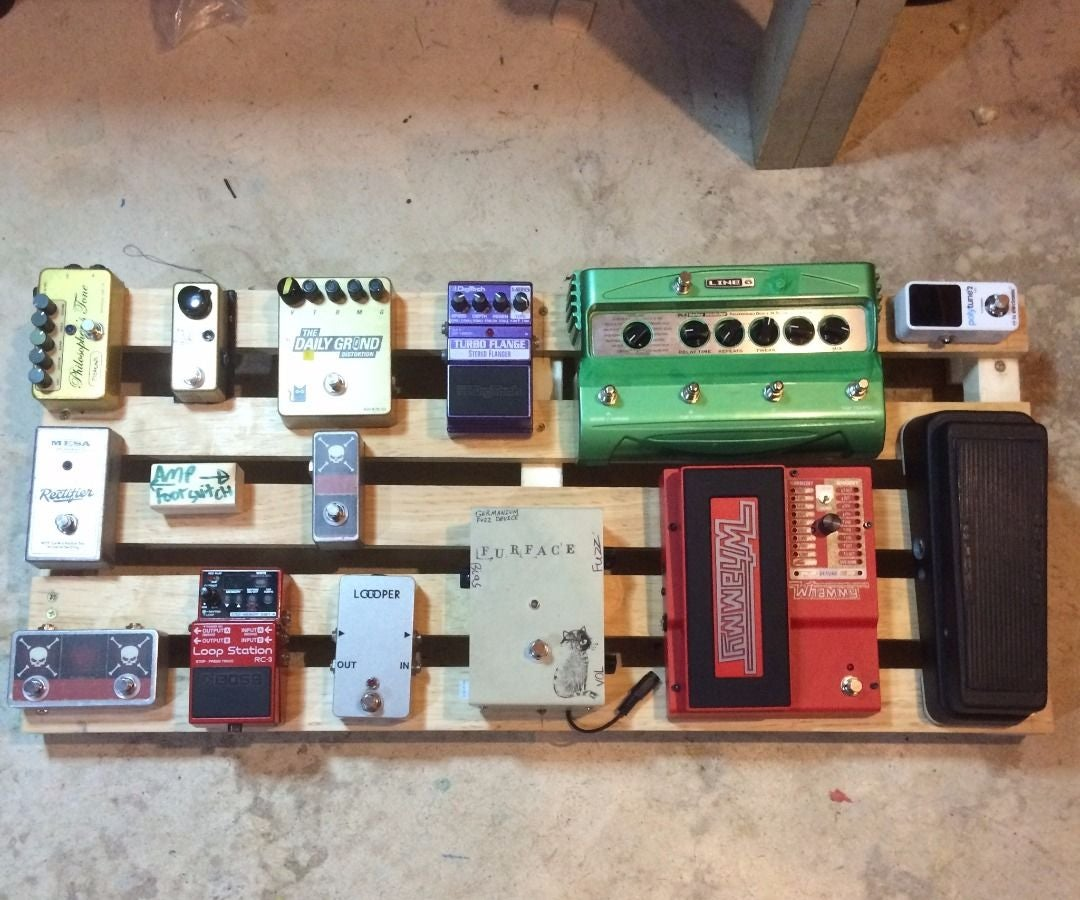 Wood Pedaltrain Novo 32 Pedalboard, Easy Build, Limited