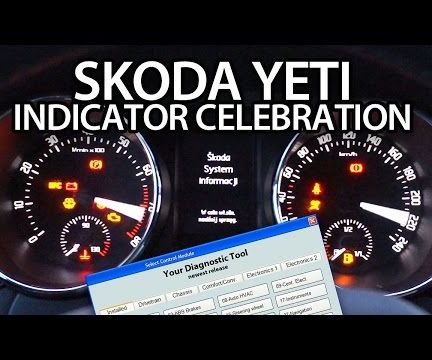 How to Activate Skoda Yeti Indicator Celebration With VCDS