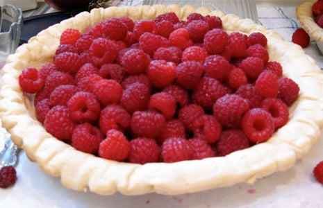 Fill Pie Crust