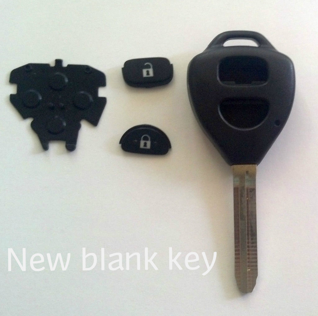 Picture of Economical Remote Key Replacement for a Toyota Yaris