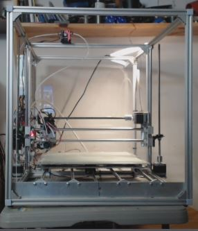 Picture of  All Metal Mega 3D Printer With All Acme Rods (Prusa I3 Base)