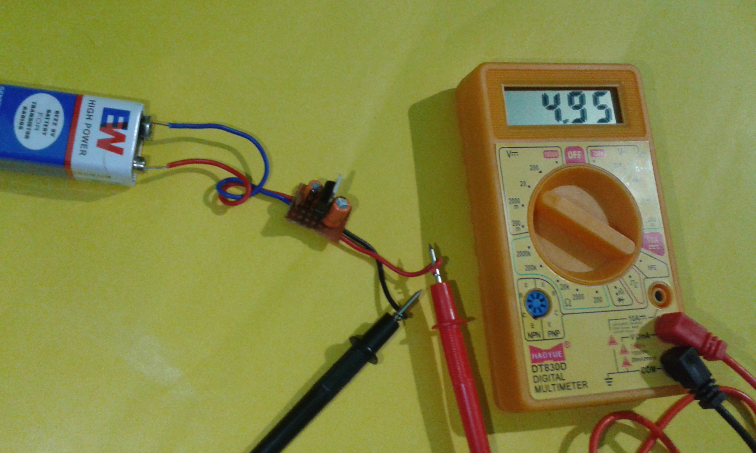 Picture of Test the Circuit