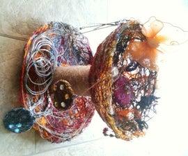 Yarn Pendant and Jewelry Holder