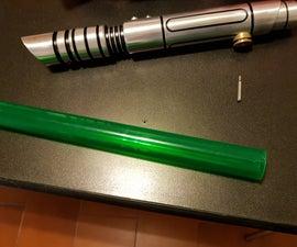 Pimp up your lightsaber blade Daylight or transparent film blade