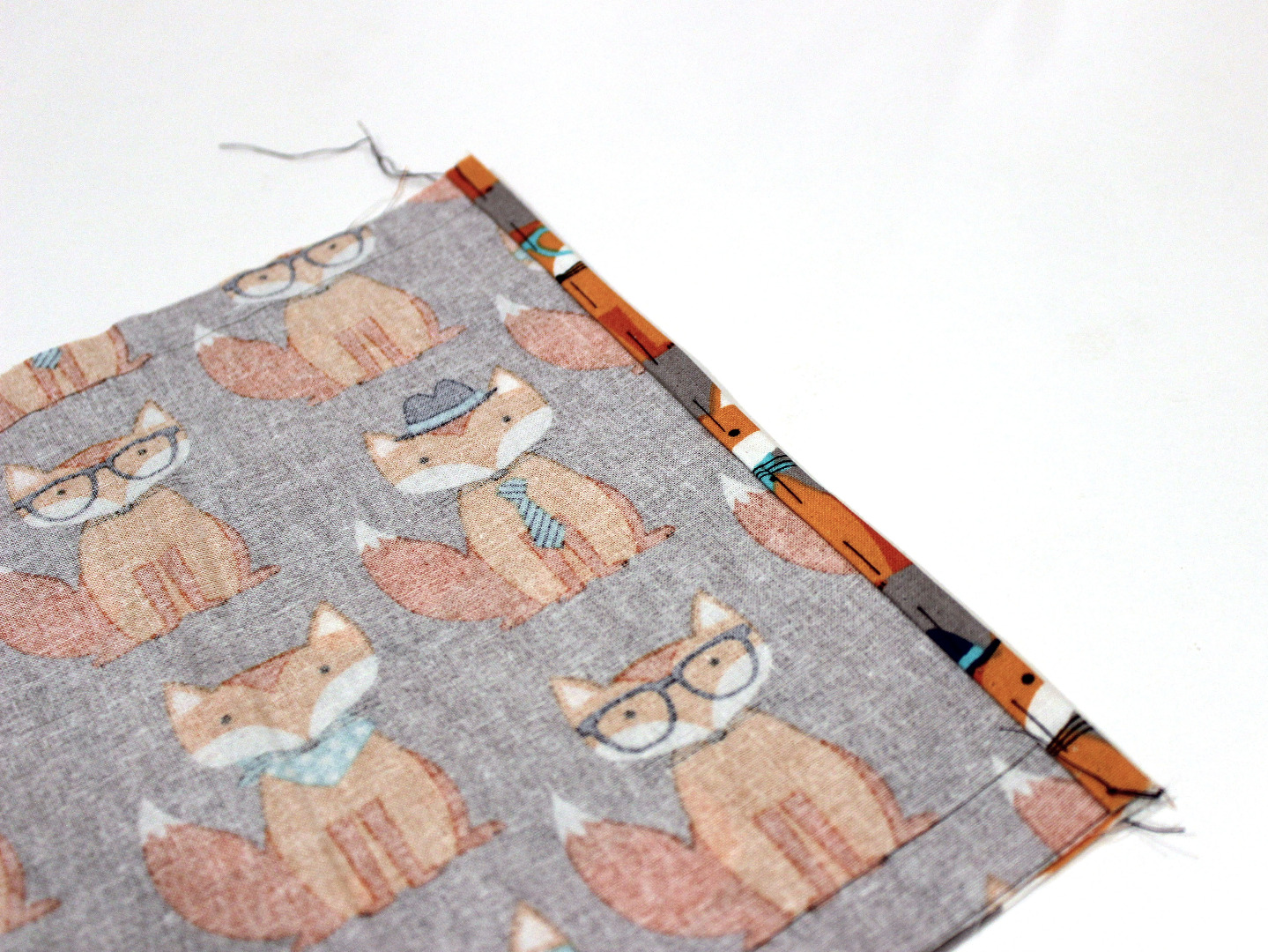 Picture of Sew Short Edges of Outer Cover