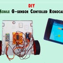 Android Mobile G-sensor Controlled Robo Car Via Bluetooth
