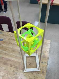 Floating Turners Cube