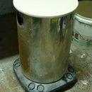 Cheap workshop stool on castors