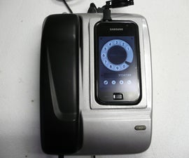 An office phone from your cell phone.