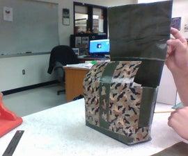 Duct Tape Camera Bag