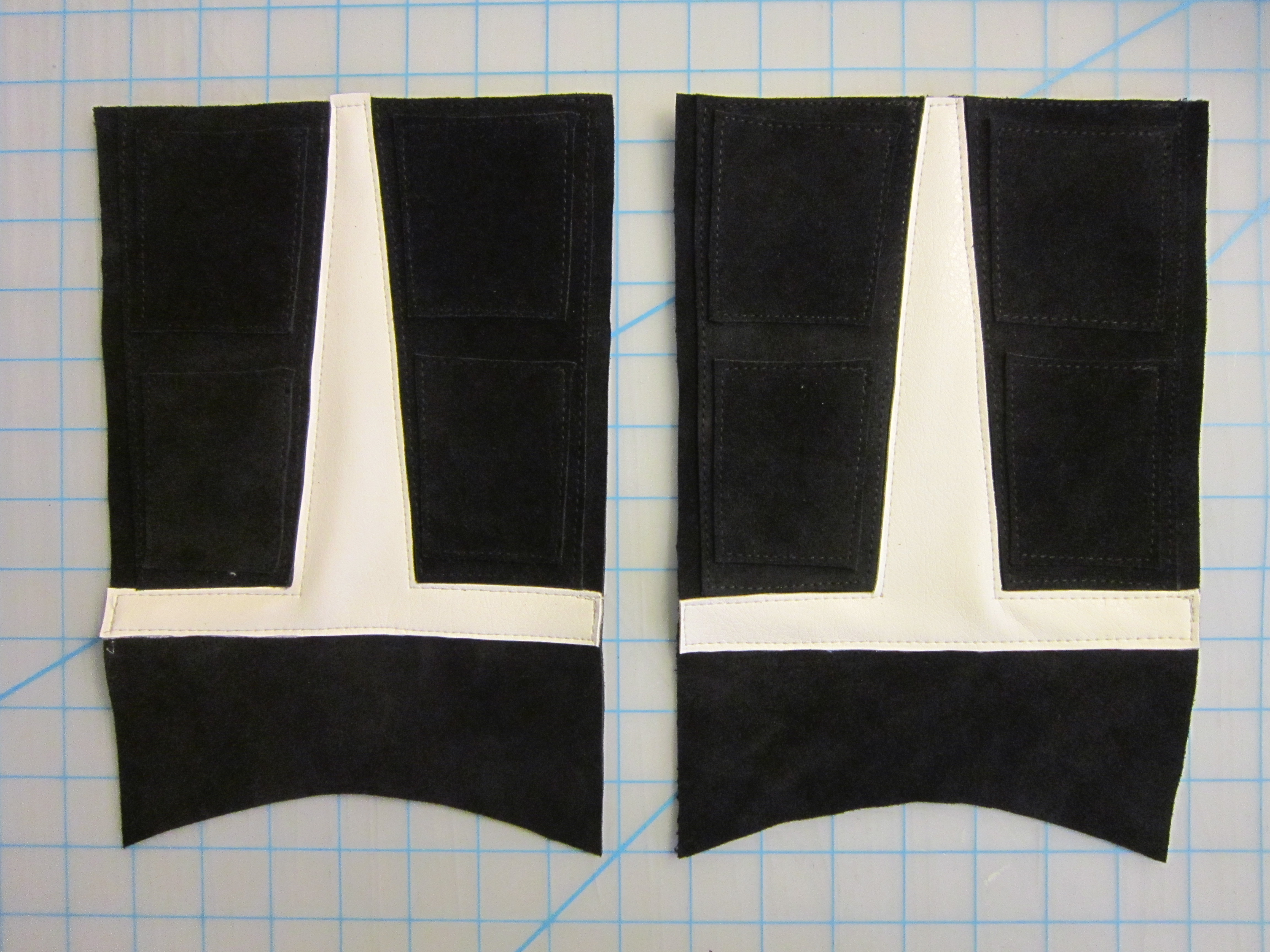 Picture of Sewing the Boot Fronts