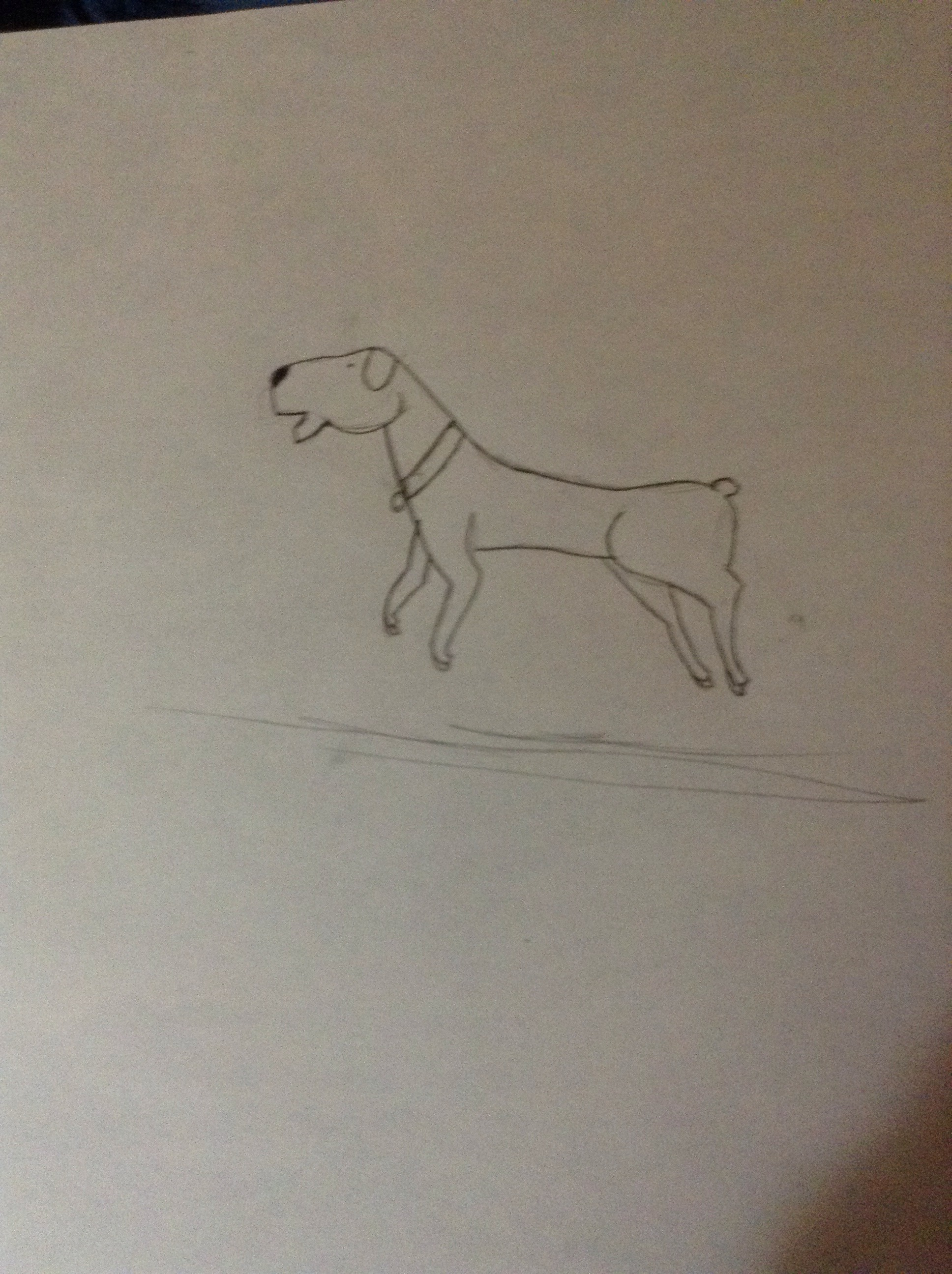 Picture of How to Draw a Dog