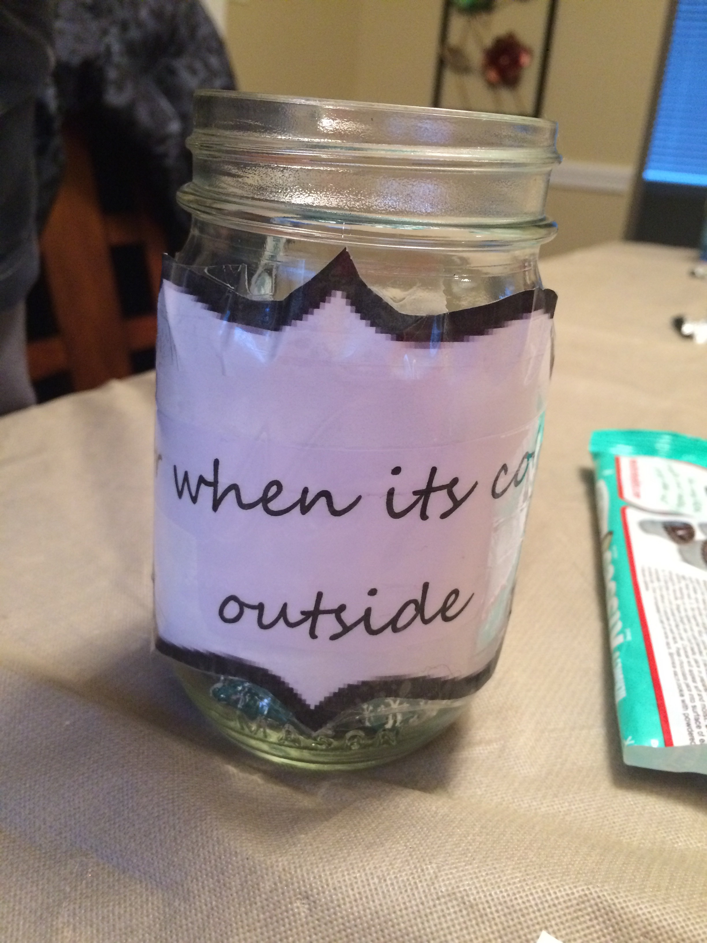 Picture of Candy Jar for the Holidays