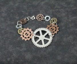 Make Your Own Steampunk Gear Bracelet