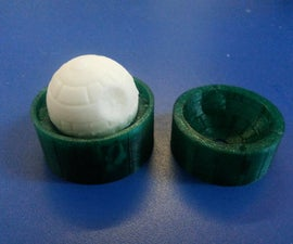 Make  bouncing Deathstars with 3D printing and homemade sugru!