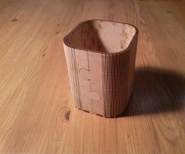 Wooden Pen Collector