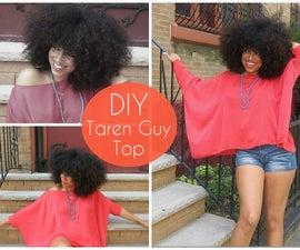 SEW THE LOOK   Taren Guy Inspired Top