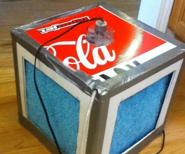A 1*1*1 Foot Evaporative Cooler (Swamp Cooler)