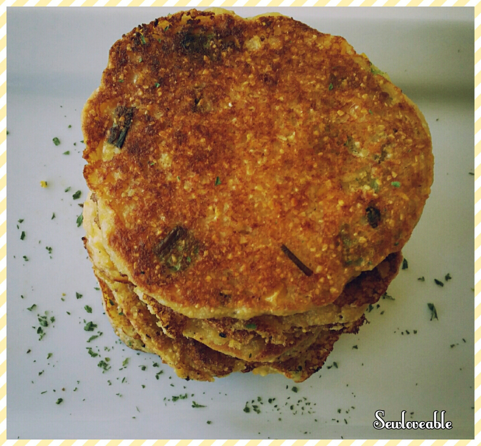 Picture of Green Onion & Chive Corn Fritters