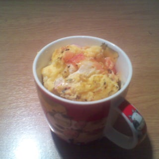 Microwave Omelette