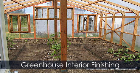 Picture of Step 8: Greenhouse Interior Finishing